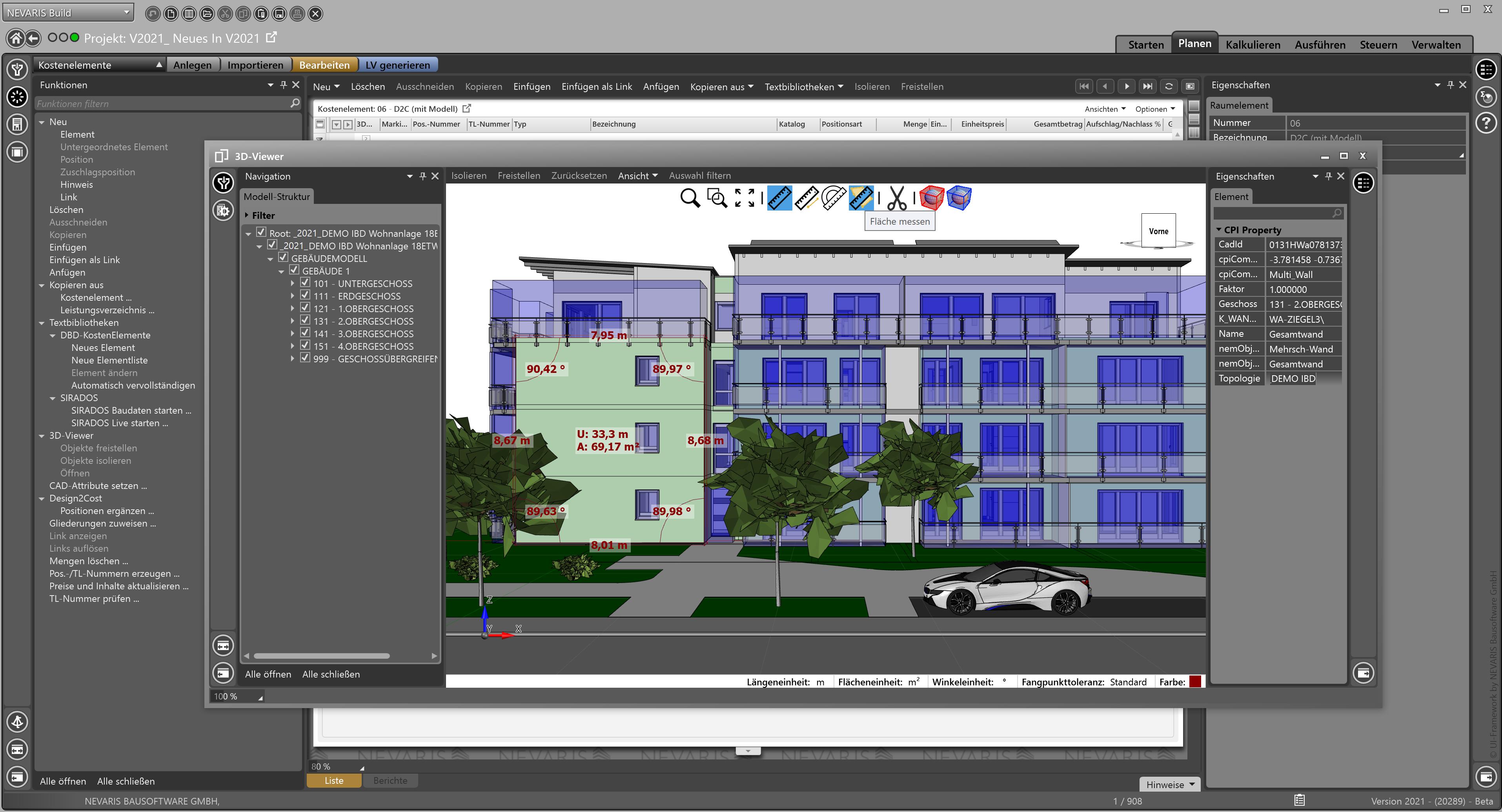 Bild zu Neuer 3D-Viewer mit Messfunktionen in Success X 2021 (Beta)_low-1